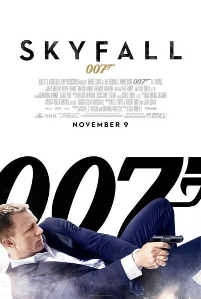 Skyfall Shooting Poster