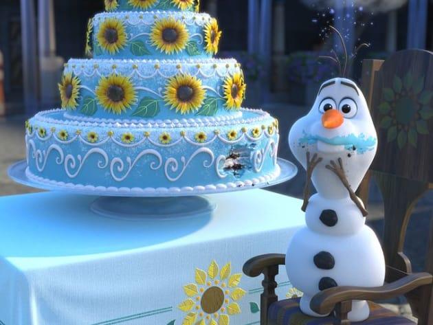 Olaf Takes the Cake