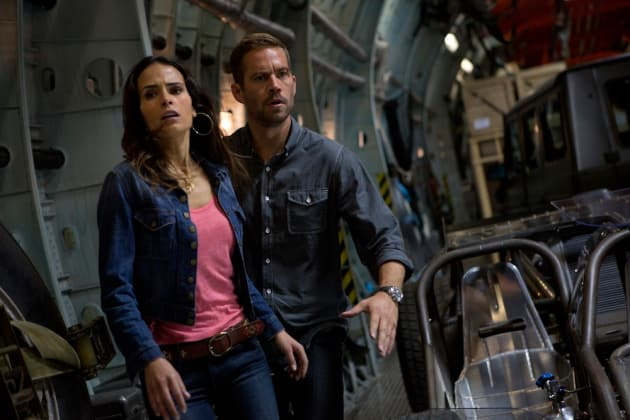 Jordana Brewster Paul Walker Fast and Furious 6