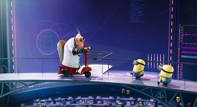 Dr. Nefario and Minions
