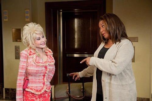 Queen Latifah and Dolly Parton in Joyful Noise