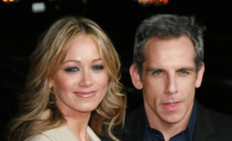 Ben Stiller and wife Christine