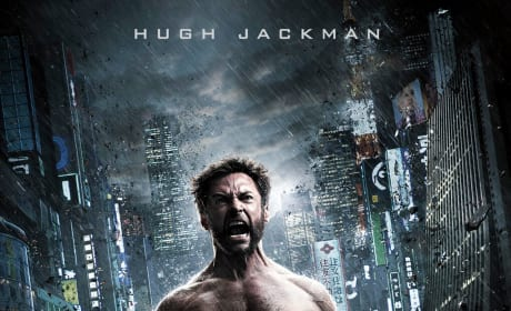 The Wolverine Gets Two New Posters: Hugh Jackman Screaming