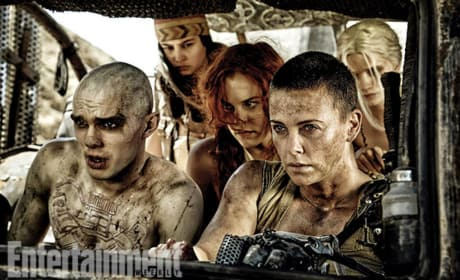 Mad Max Fury Road Charlize Theron Nicholas Hoult