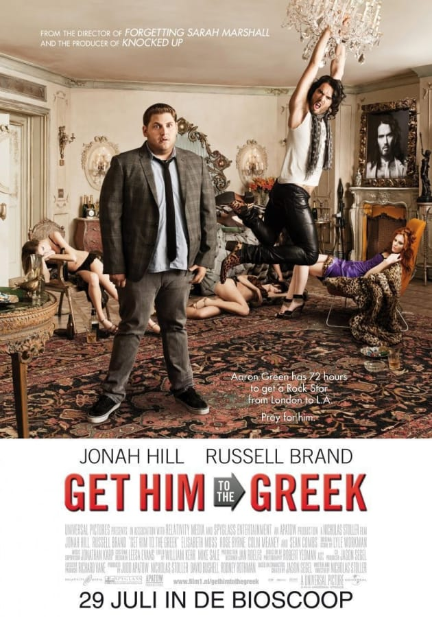 Get Him to the Greek International Poster