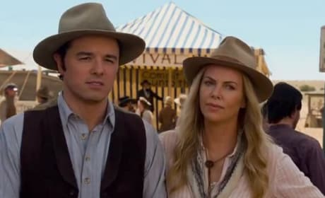 A Million Ways to Die in the West Seth MacFarlane Charlize Theron
