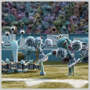 Monsters University Cheerleaders