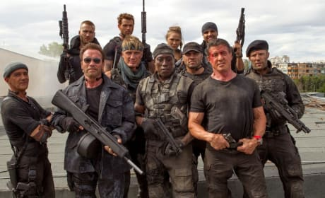 The Expendables 3 Cast Photo