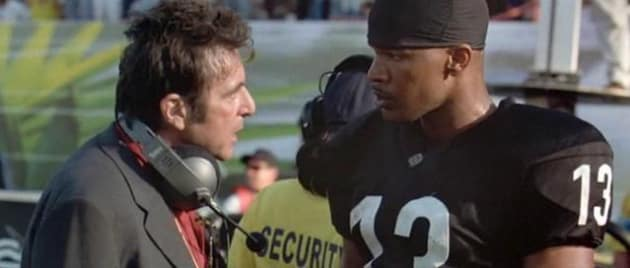 Any Given Sunday Al Pacino Jamie Foxx