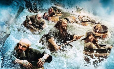 The Hobbit The Desolation of Smaug Dwarves in a Barrel
