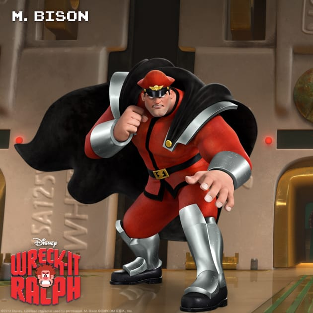 M. Bison Wreck-It Ralph