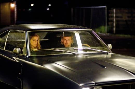 Amber Heard and Nicolas Cage Drive Around