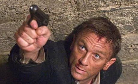 James Bond Photos from Quantum of Solace