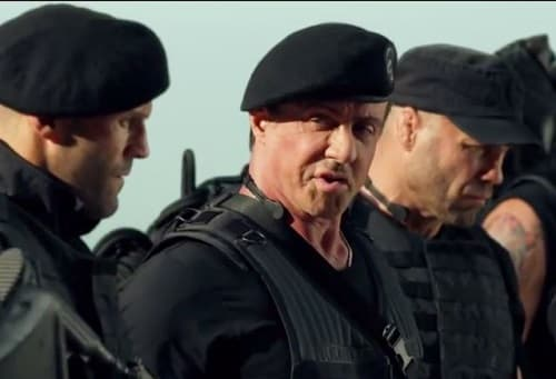 The Expendables 3 Sylvester Stallone Jason Statham