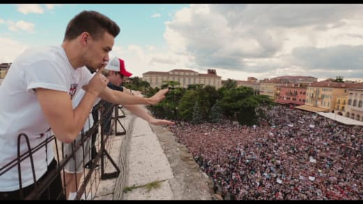 One Direction This is Us Crowd Shot