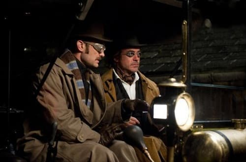 Jude Law and Robert Downey Jr. Star in Sherlock Holmes: A Game of Shadows