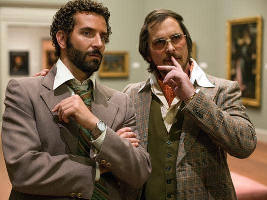 American Hustle Bradley Cooper Christian Bale