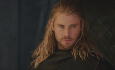 Chris Hemsworth Stars as Thor in Thor: The Dark World