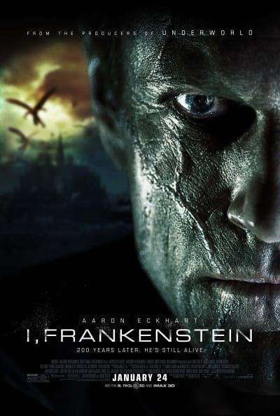 I, Frankenstein Official Movie Poster