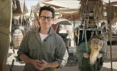 J.J. Abrams on Star Wars: Episode VII Set