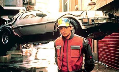 Michael J. Fox Back to the Future Part II