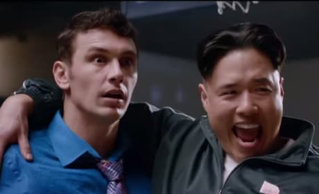 James Franco Randall Park The Interview
