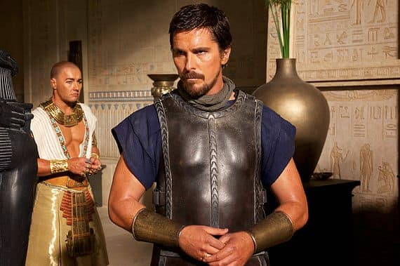 Christian Bale And Joel Edgerton Exodus: Gods and Kings