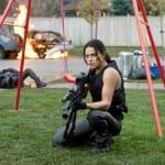 Michelle Rodriguez Resident Evil: Retribution