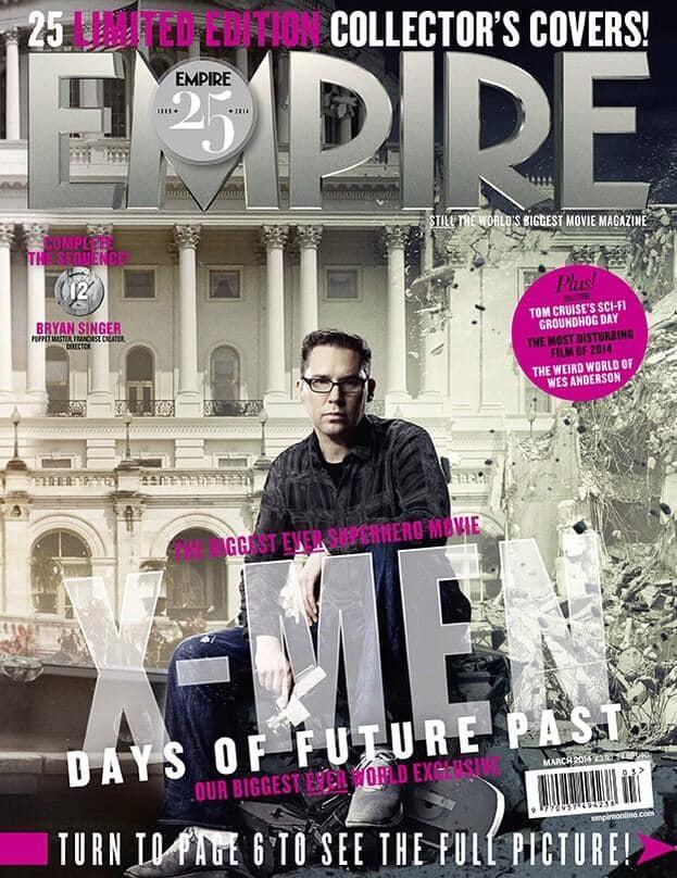 X-Men Days of Future Past Bryan Singer Empire Cover