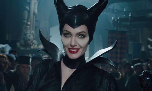 Maleficent Angelina Jolie Smiling