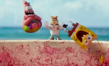 The SpongeBob Movie: Sponge Out of Water Super Bowl Trailer