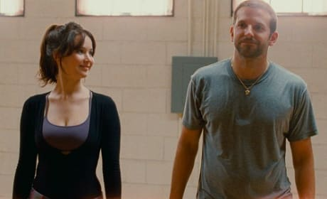 Jennifer Lawrence Bradley Cooper Silver Linings Playbook