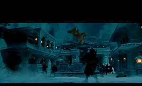 The Last Airbender Aang Fighting Clip