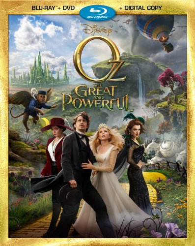Oz the great and powerful dvd slash blu ray combo pack