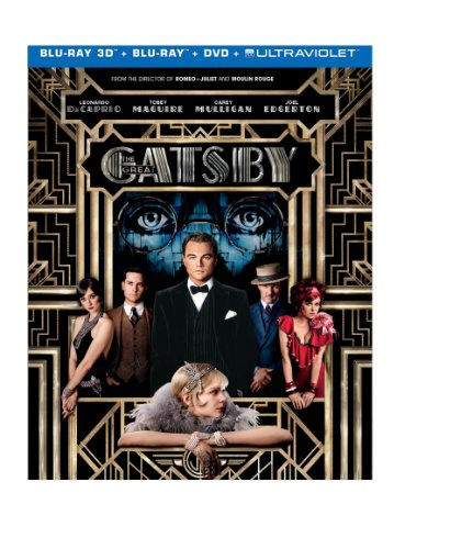 The great gatsby dvd slash blu ray combo pack
