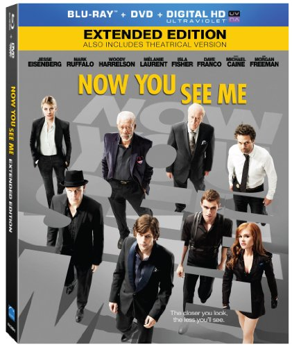 Now you see me blu ray slash dvd combo pack