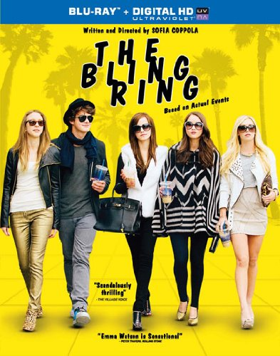 The bling ring blu ray