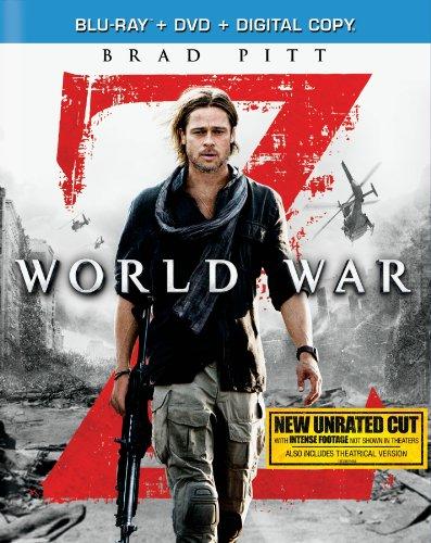 World war z blu ray slash dvd combo pack