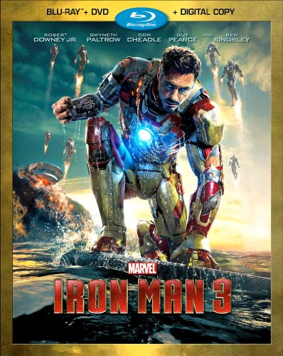 Iron man 3 dvd slash blu ray combo pack