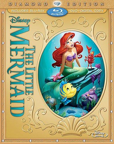 The little mermaid blu ray diamond edition