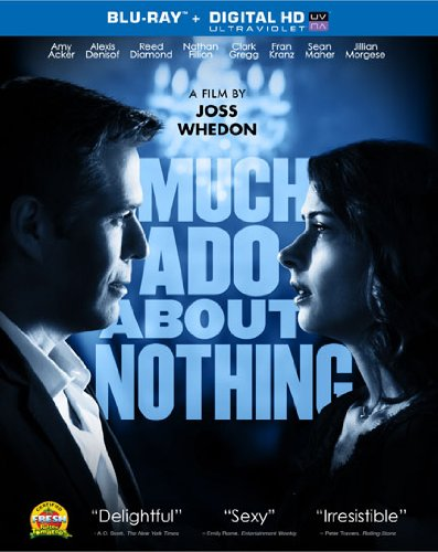 Much ado about nothing blu ray slash dvd combo pack