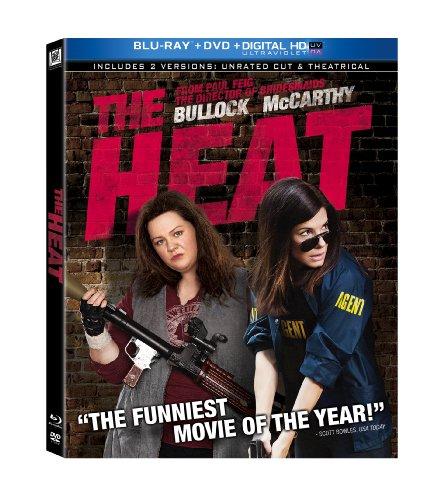The heat dvd slash blu ray combo pack