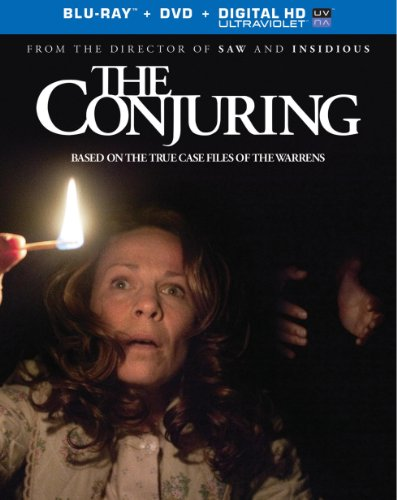 The conjuring dvd slash blu ray combo pack
