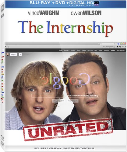 The internship blu ray slash dvd combo pack