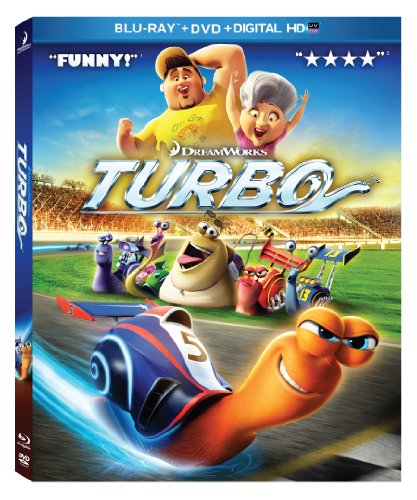 Turbo blu ray slash dvd combo pack